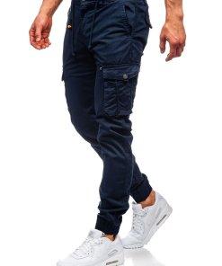 Pantaloni cargo joggers bleumarin barbati Bolf CT6703