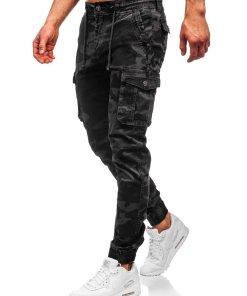 Pantaloni cargo grafit barbati Bolf CT6019