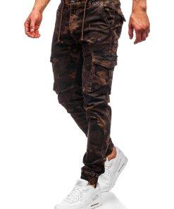 Pantaloni cargo maro barbati Bolf CT6017