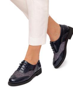 Pantofi dama Esie Bleumarin