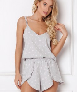 Pijama dama Feline, scurta
