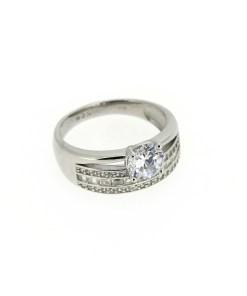 Inel din argint tip logodna, marime 56