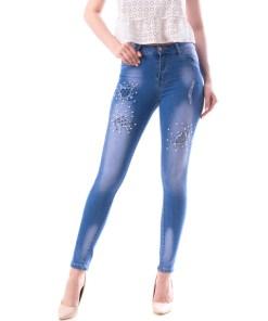 Jeans Dama FerfyB Albastru