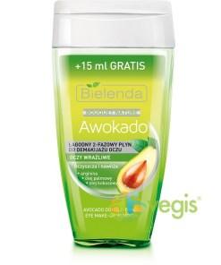 Demachiant Bifazic Cu Avocado Ochi Sensibili 125ml+15ml