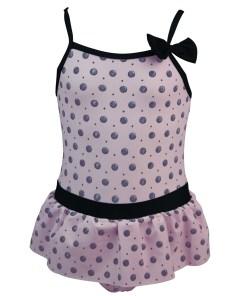 Costum de baie intreg Pink Lady, pentru fetite
