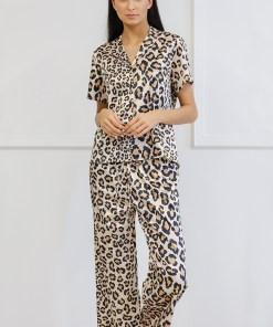 Pijama satinata Animal