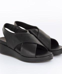 Sandale dama The Flexx din piele naturala Belle negru