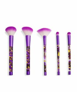 Set de pensule de machiaj I Heart Revolution Fortune Seeker Purple Glitter