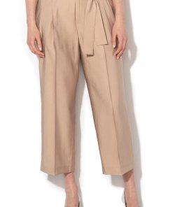 Pantaloni cu talie inalta si croiala ampla 1983525