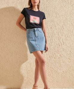 Fusta mini din denim 2864484