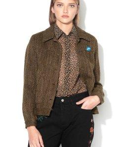 Jacheta usoara cu insigna decorativa 1500768