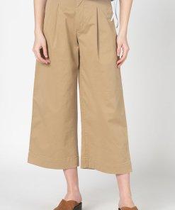 Pantaloni cu croiala ampla si lungime 3/4 2653343