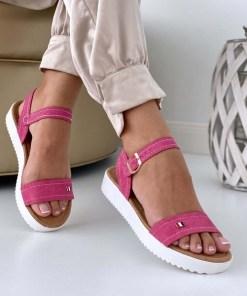Sandale Dama Athena Fucsia