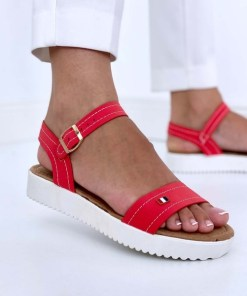 Sandale Dama Athena Rosu