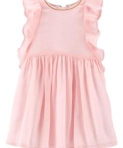 Bebe girl Oshkosh Rochita vaporoasa roz pudrat