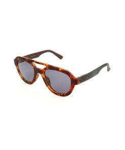 Ochelari de soare aviator unisex cu rama tortoise 2603883
