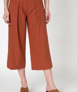 Pantaloni 3/4 cu croiala ampla 2737219