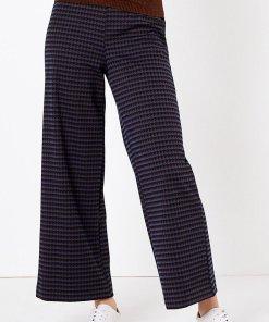 Pantaloni crop cu croiala ampla 2397648