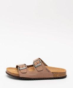 Papuci din piele nabuc Brionia 2922513