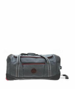 Geanta voiaj charter 2 roti 71 cm neagra/gri Davidts Travel in Grey