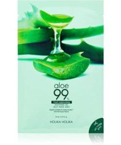 Holika Holika Aloe 99% mască textilă hidratantă HLKALOW_KMSK02