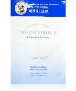 Holika Holika Mechnikov's Probiotics Formula mască textilă iluminatoare HLKMCHW_KMSK01