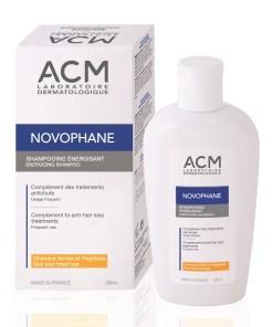 Sampon energizant pentru par fragil Novophane, 200ml, ACM