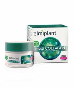 Crema antirid de noapte cu multi collagen, 50 ml