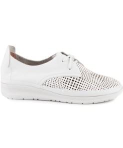 pantofi femei luca di gioia albi din piele 2589dd461a 16107
