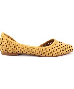 pantofi femei luca di gioia galbeni din piele 2699dd5833g 16236