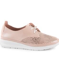 pantofi femei luca di gioia roz din piele 2589dd461ro 16105