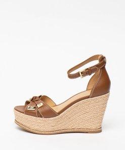 Sandale wedge tip espadrile de piele Ripley 2795700