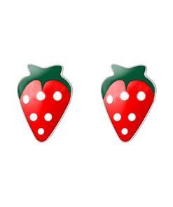 Cercei Argint 925 pentru copii, Fresh Strawberry