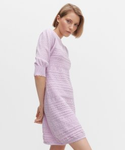 Reserved - Rochie din tricot - Violet