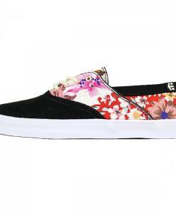 Teniși Corby black/floral