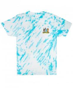 Tricou No place Like Home Tee blue stripe dye
