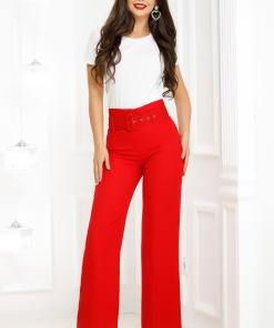 Pantaloni Marisa Red