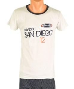 Pijama bej San Diego pentru barbat - cod 38502