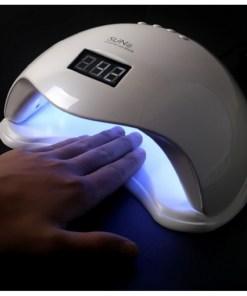 Lampa UV/LED pentru unghii SUN5, 48 W, Alb