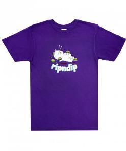 Tricou Fat Hungry Baby Tee purple