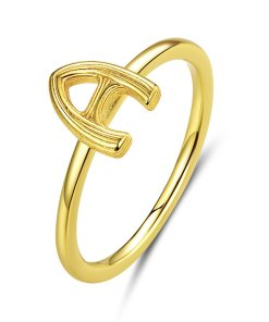 Inel din argint Golden A