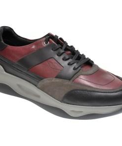 Pantofi OTTER negri, 616, din piele naturala