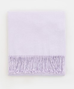 Mohito - Șal uni cu franjuri - Violet