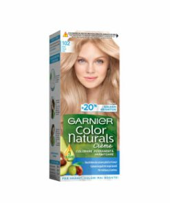 Vopsea de par permanenta Garnier Color Naturals, 102 Blond Glacial Irizat, 110 ml