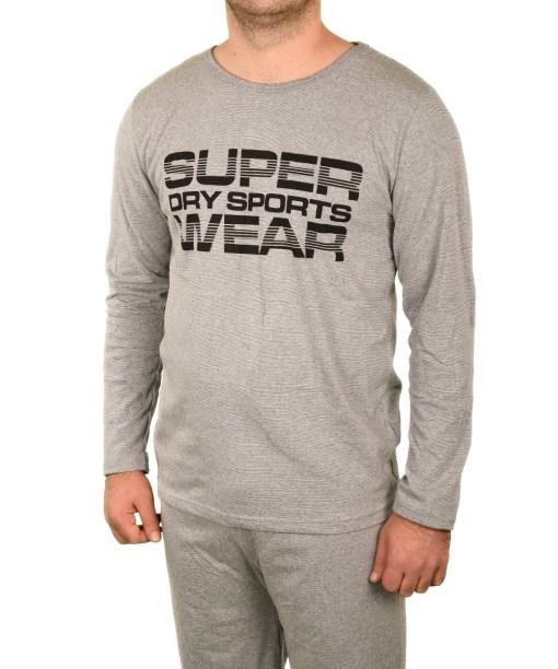 Pijama gri Super Sport pentru barbat - cod 40391