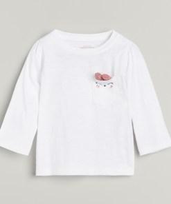 Reserved - Tricou din bumbac cu inscripție -