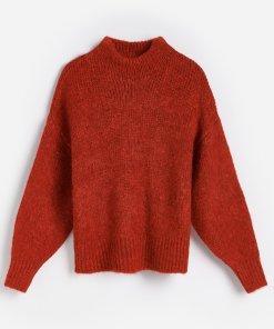 Reserved - Pulover pentru femei - Roșu