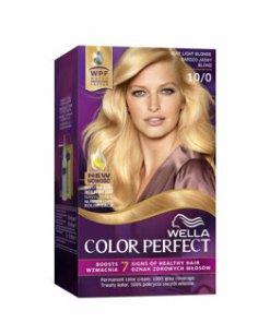 Vopsea de par Wella, Perfect Kit 10/0 Very Light Blond, 120 ml