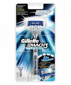 Aparat de ras Gillette Mach3 Turbo, rezerva inclusa
