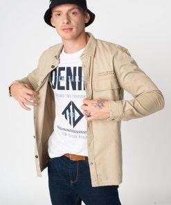Jacheta tip camasa relaxed fit cu buzunare cu clapa 3107250